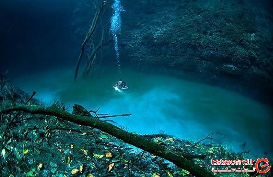 Cenote Angelit یا فرشته کوچک، رودخانهای در زیر آب (The Underwater River of Cenote Angelit)