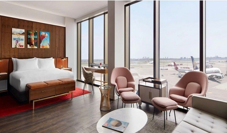 7 نمونه از بهترین هتل های فرودگاهی که می توان در آن ها آرام گرفت!