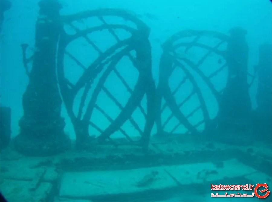صخره یادبود نپتون، فلوریدا، آمریکا(Neptune Memorial Reef)