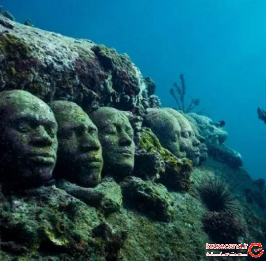 پارک مجسمههای زیر آب گرنادا (Grenada's Underwater Sculpture Park)