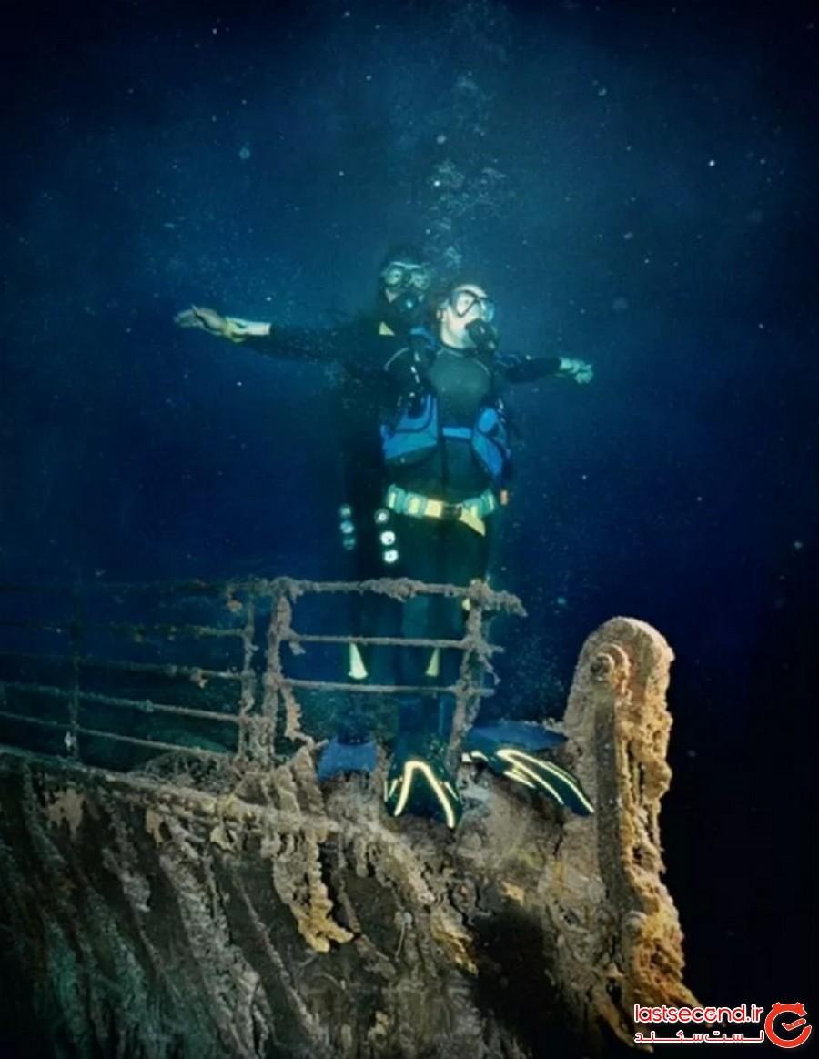 بقایای کشتی تایتانیک (The Remains of the Titanic)