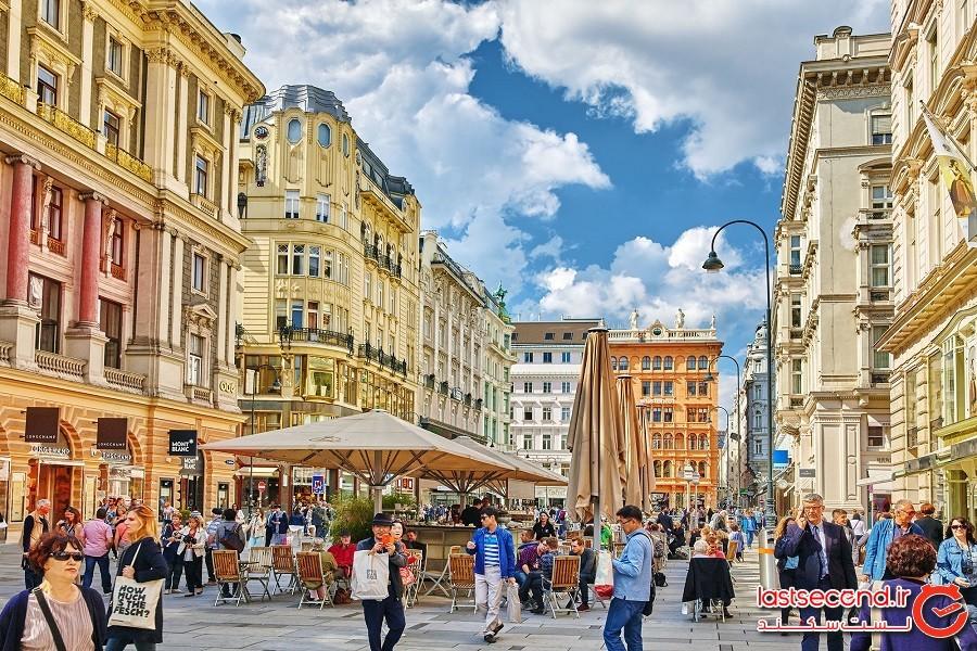 وین برای دومین سال پیاپی بهعنوان سرزندهترین شهر جهان در لیست شناخته شد
