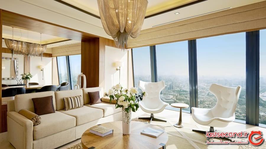برجهای شعله: محل یکی از بلندترین هتلهای لوکس جهان