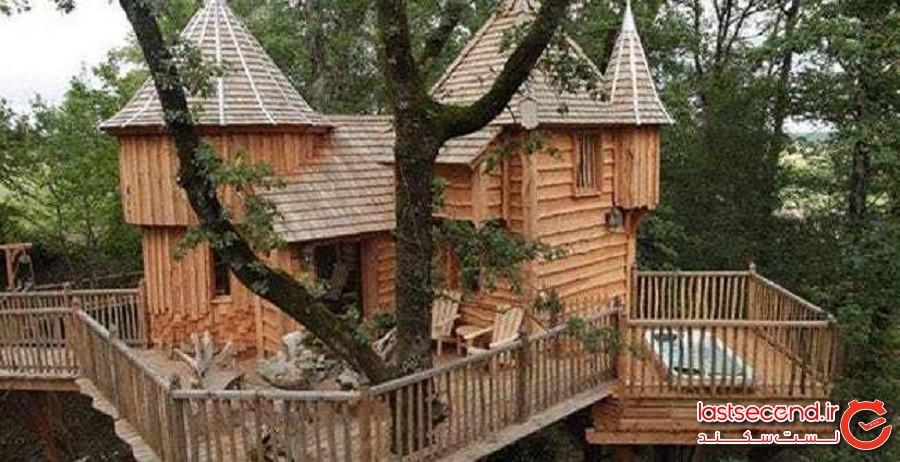 تفرجگاه خانه درختی ایتالیایی (Italian Treehouse Resort)