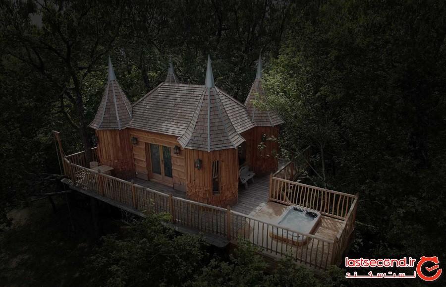 خانه درختی مونبازیلاک (Monbazillac Treehouse)
