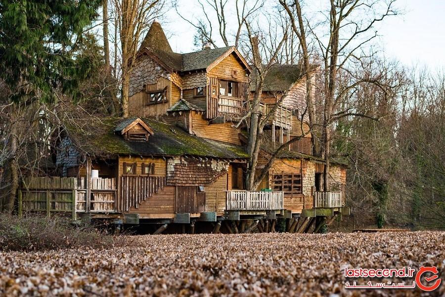 خانه درختی آلِنویک (Alnwick Treehouse)