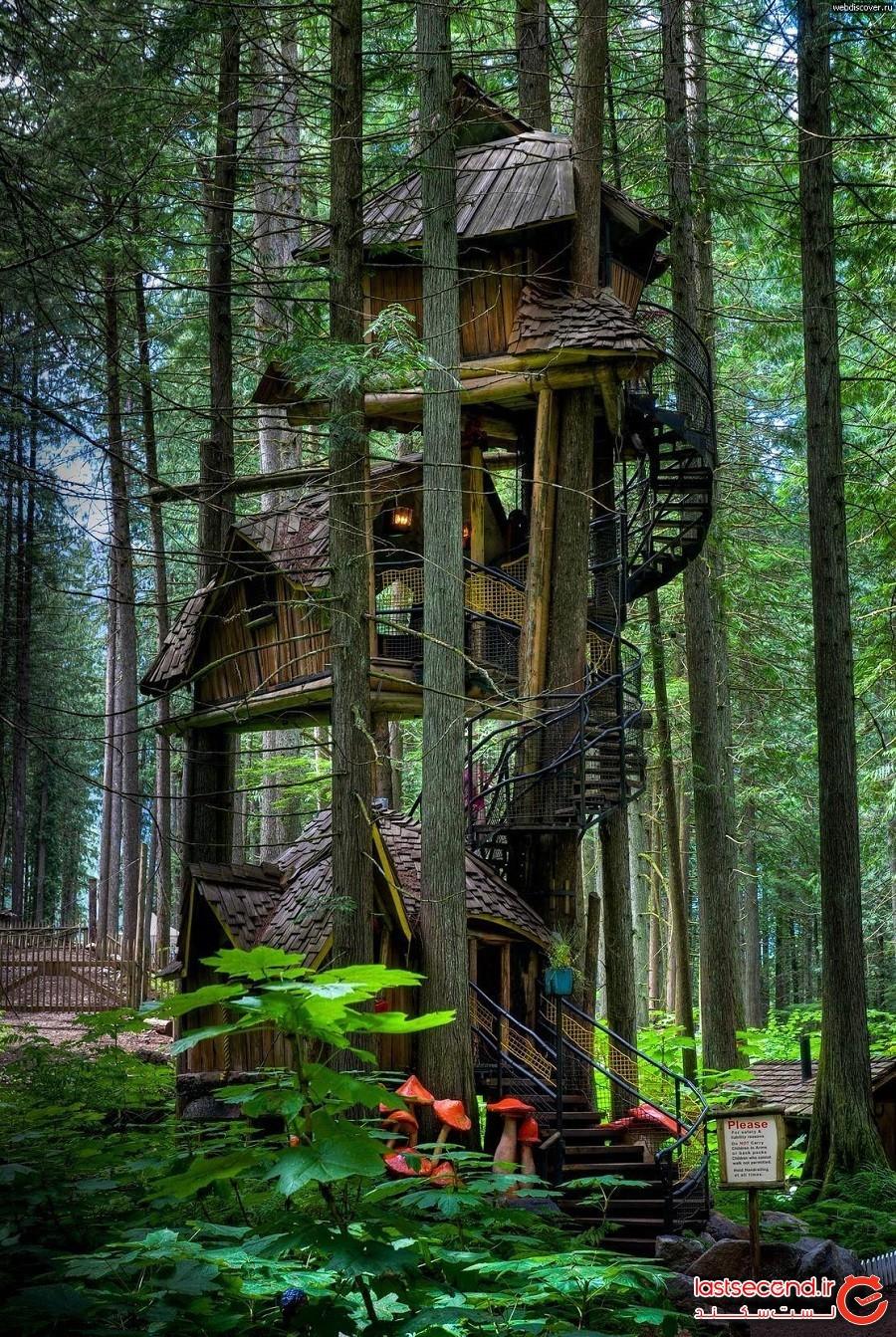 خانه درختی فِیریتال (Fairytale Treehouse)