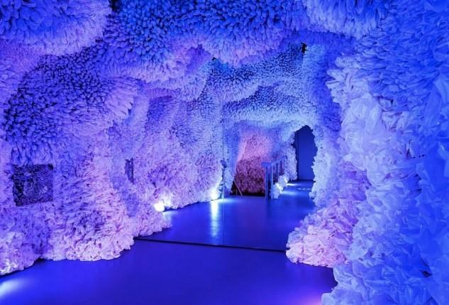 نمایشگاه هنری سه بعدی عجیبی که اهداف مهم زیست محیطی دارد!