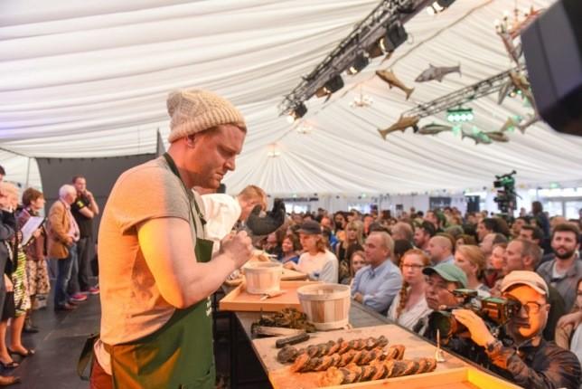 طولانی ترین جشنواره جهانی غذا در ایرلند برگزار شد!
