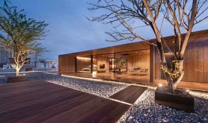 پشتبامی خالی که معماران آن را به یک خانه مدرن تبدیل کردند!