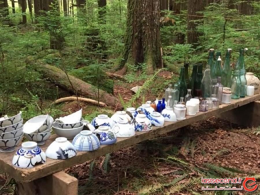 روستای ژاپنی رهاشده ای در جنگلهای کانادا پیدا شد
