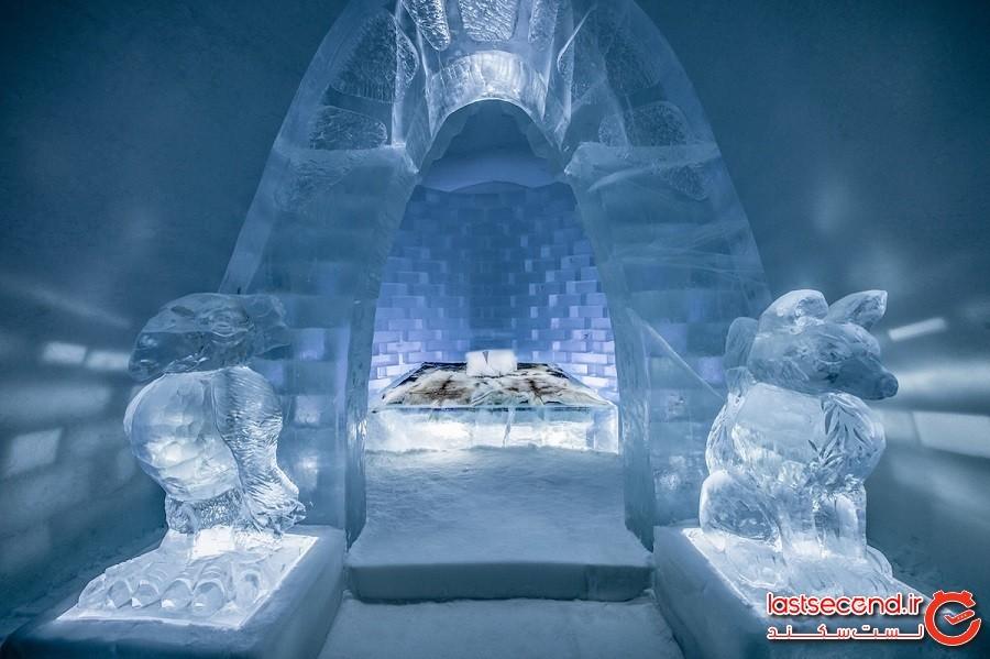 مروری بر طرحهای خیرهکننده فصل بزرگداشت سیامین سالگرد آیسهُتِل (هتل یخی) سوئد