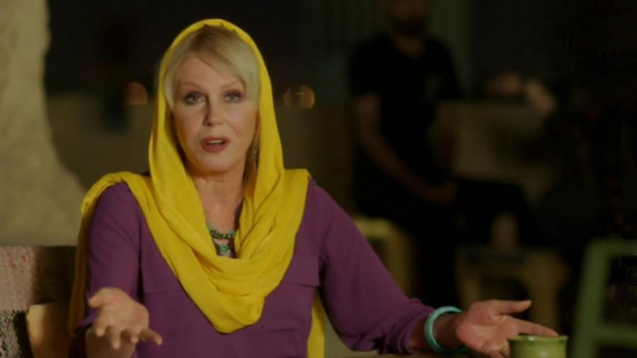 شگفتی جوانا لاملی، بازیگر هالیوودی از سفر به ایران!