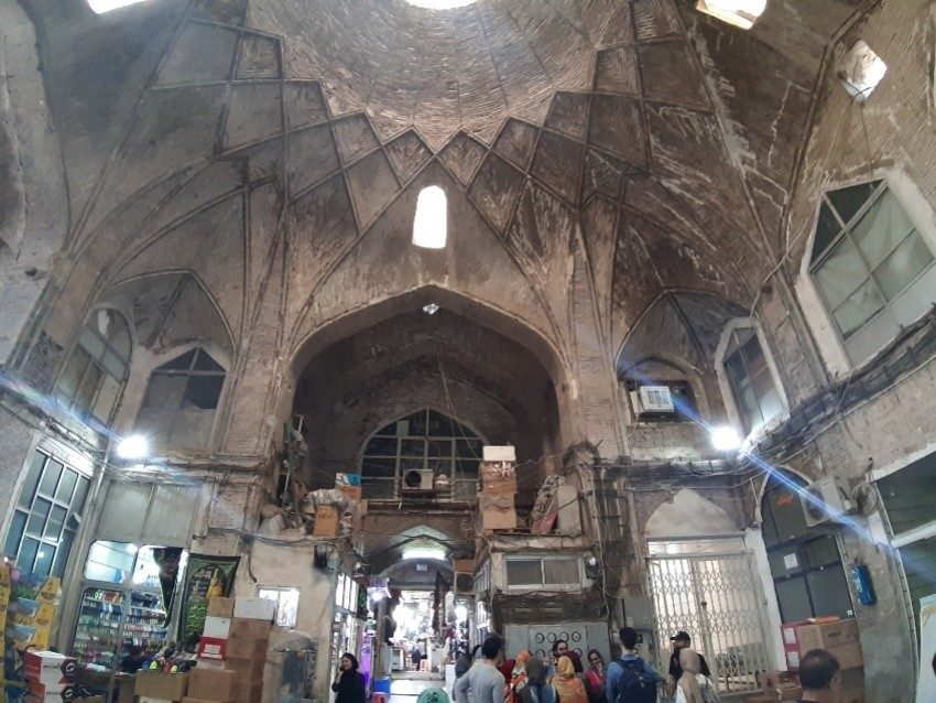 بازار چهار سوق تهران