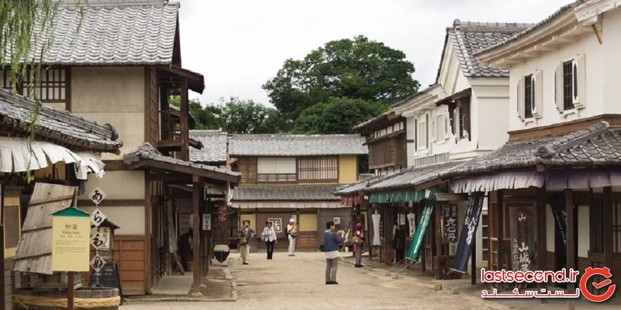 خانه ارواح استودیو پارک تویی کیوتو (TOEI KYOTO STUDIO PARK)