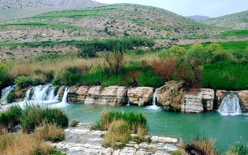 معجزه ی پلیه، آبشار هفت قلوی ایوان در ایلام!