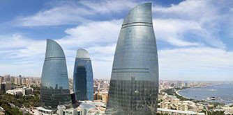 باکو شهری زیبا و گران با مردمی بسیار مهربان