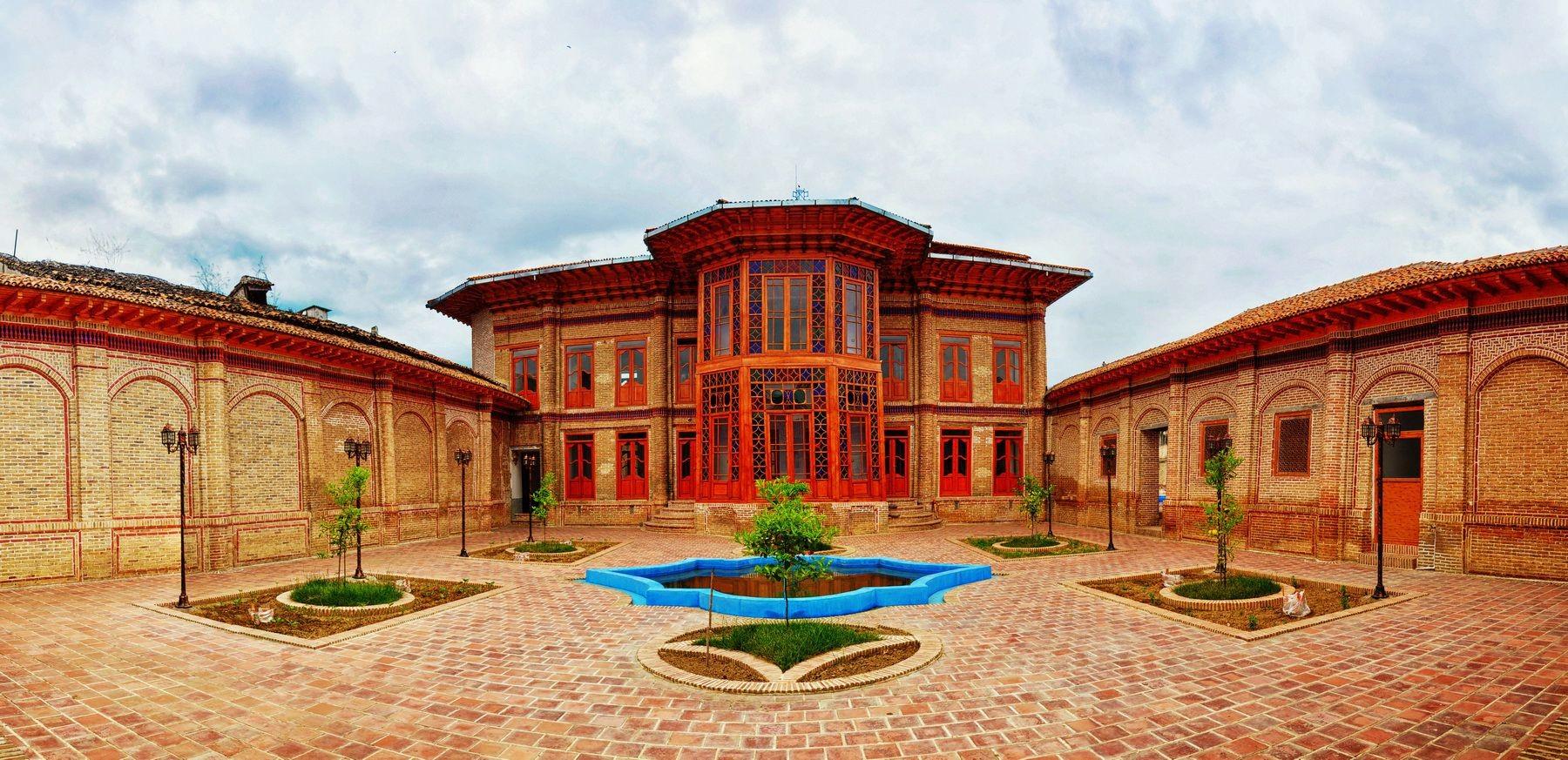 عمارت فاضلی، جاذبه بی نظیر ساری که متعلق به دو حکومت بود!