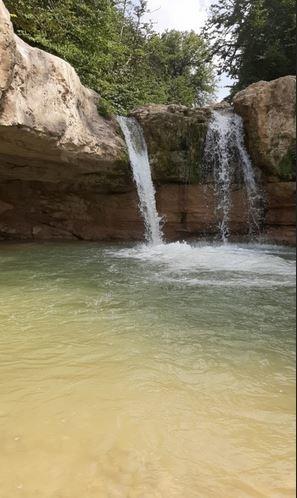 Hezarjarib Waterfall