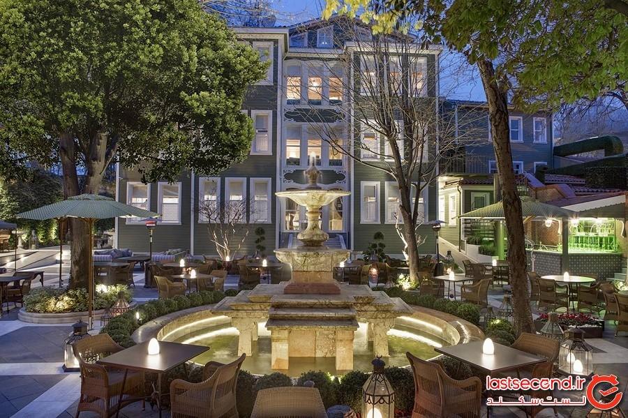 هاگیا صوفیا مَنشِنز استانبول، کالکشن کوریو با مالکیت هیلتون Hagia Sofia Mansions Istanbul, Curio Collection by Hilton