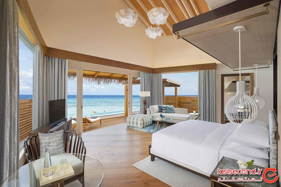 هتل استراحتگاه و آب گرم جی دابلیو ماریوت مالدیوز JW Marriott Maldives Resort & Spa
