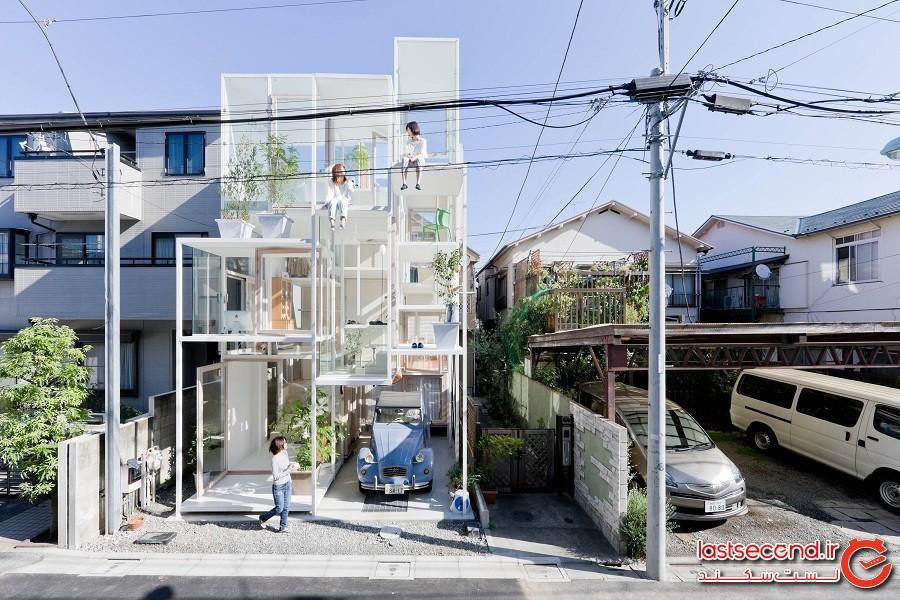 خانه شفاف (Transparent House)، ژاپن