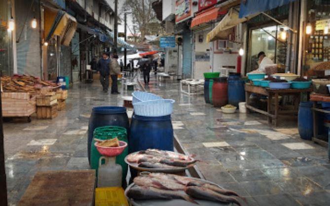 Fish Market Langarud
