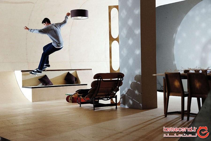 خانه اسکیت بورد (Skateboard House)، ایالاتمتحده آمریکا