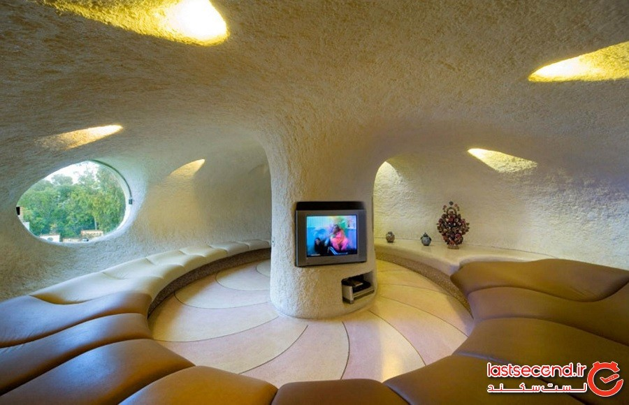خانهای به شکل صدفی غولپیکر، مکزیک