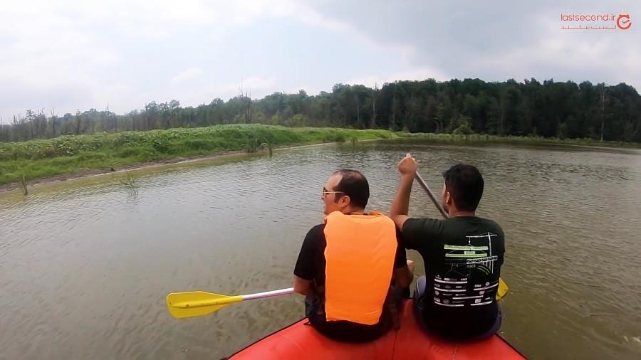 دریاچه الندان، مکانی رویایی برای کمپینگ!