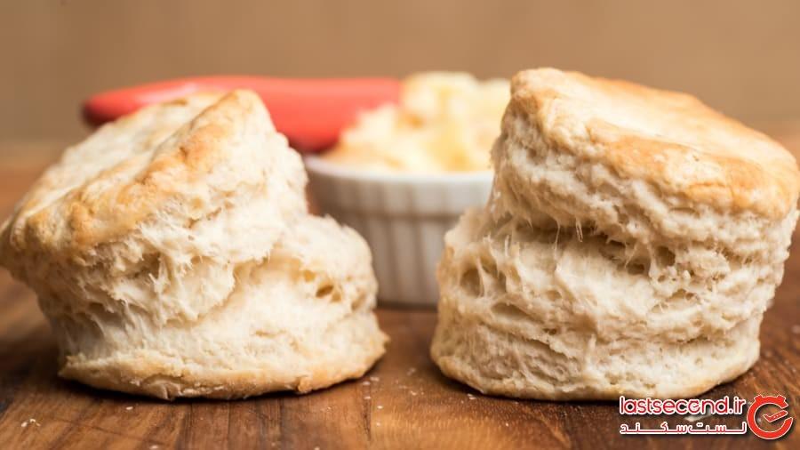 نان بیسکوئیت، ایالاتمتحده آمریکا