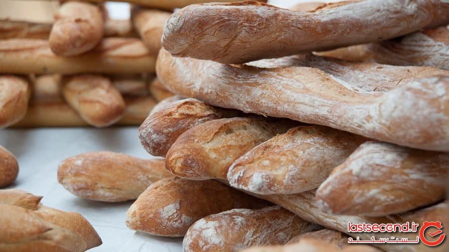 نان باگت، فرانسه