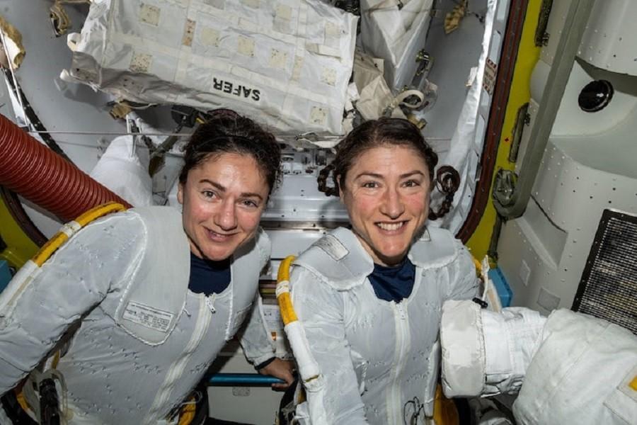 تاریخ سازی ناسا پس از اولین پرتاب موفقیت آمیز سفینه فضایی کاملاً زنانه!
