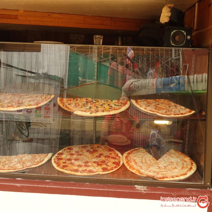 پیتزا استند