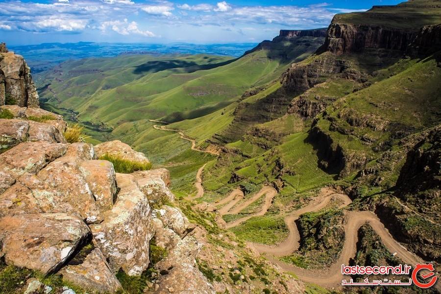 جاده سانی، آفریقای جنوبی و لسوتو
