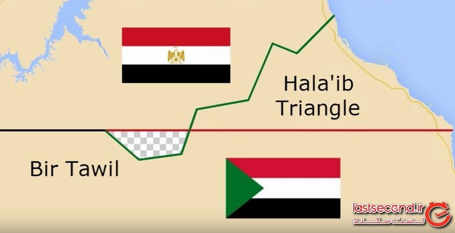 عجیبوغریبترین مرزهای بین کشوری جهان