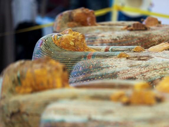کشف قرن: مومیاییهای 3000 ساله مصری درون 30 تابوت یافت شدند!