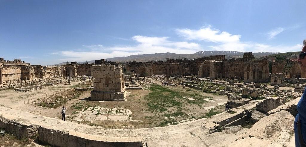 ویرانه های رومی بعلبک