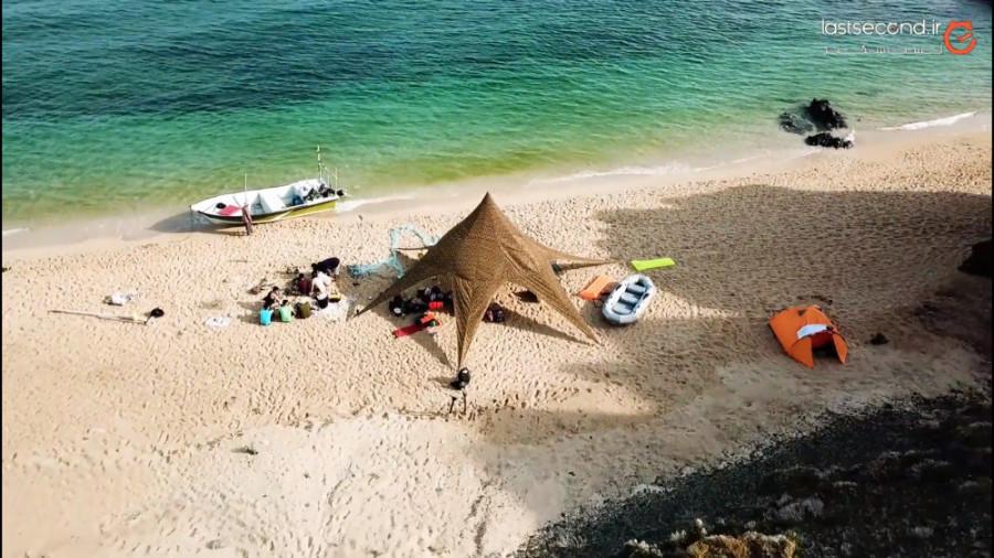 بکرترین و زیباترین ساحل خلیج فارس