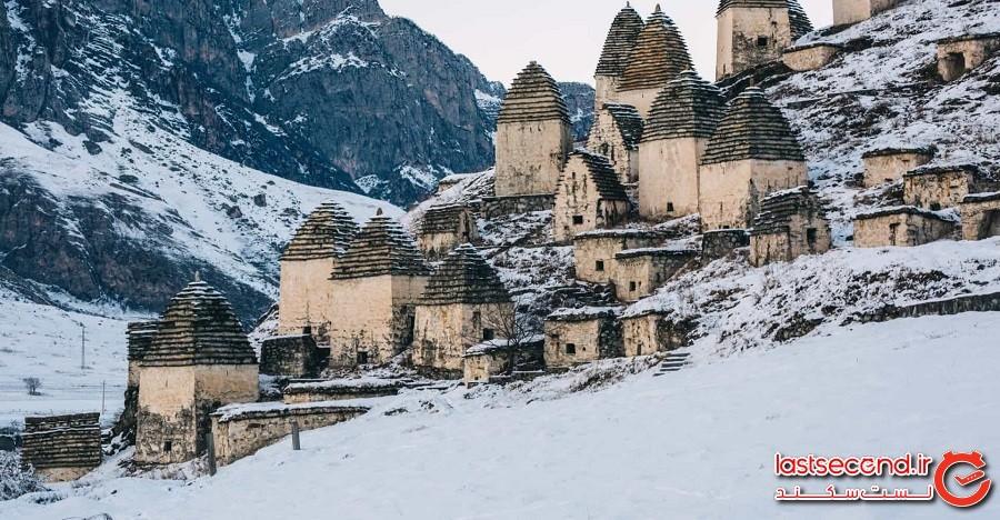 شهر مردگان، روستای عجیب دارگاواس، روسیه