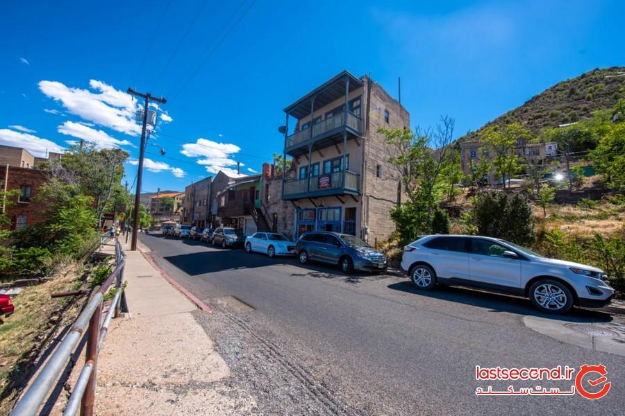 شهر جروم آریزونا؛ بزرگ ترین شهر متروکه و ارواح در آمریکا!