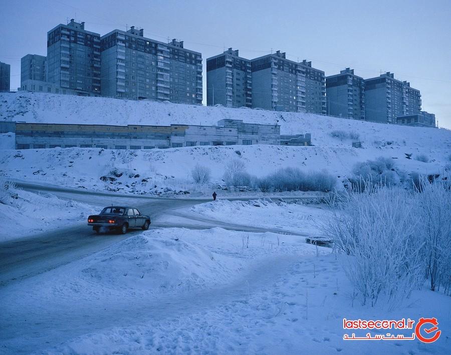 عکاسی ماجراجویانه در هوای سرد و تاریک شهرهای قطبی روسیه!