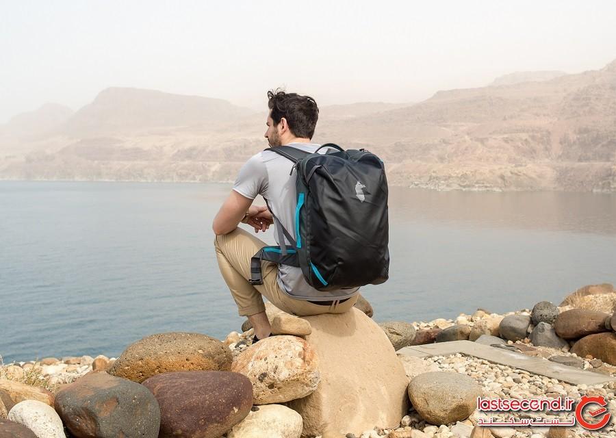 چگونه با یک کولهپشتی کوچک به همه جای دنیا سفر کنیم؟