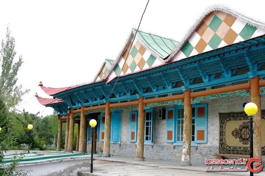 مسجد دانگان، عبادتگاهی که در ساختش از هیچ میخی استفاده نشده