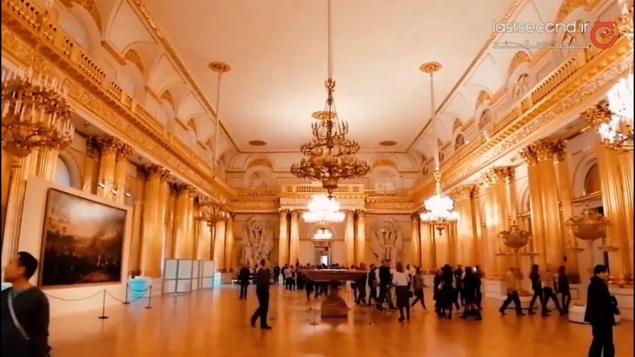 نگاهی به موزه هرمیاژ یکی از بزرگترین موزه های جهان در سن پترزبورگ