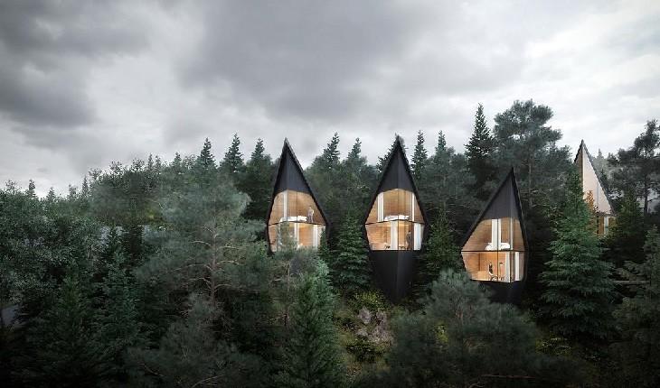 خانه های رویایی در دل طبیعت، بهترین راه فرار از زندگی شهری!