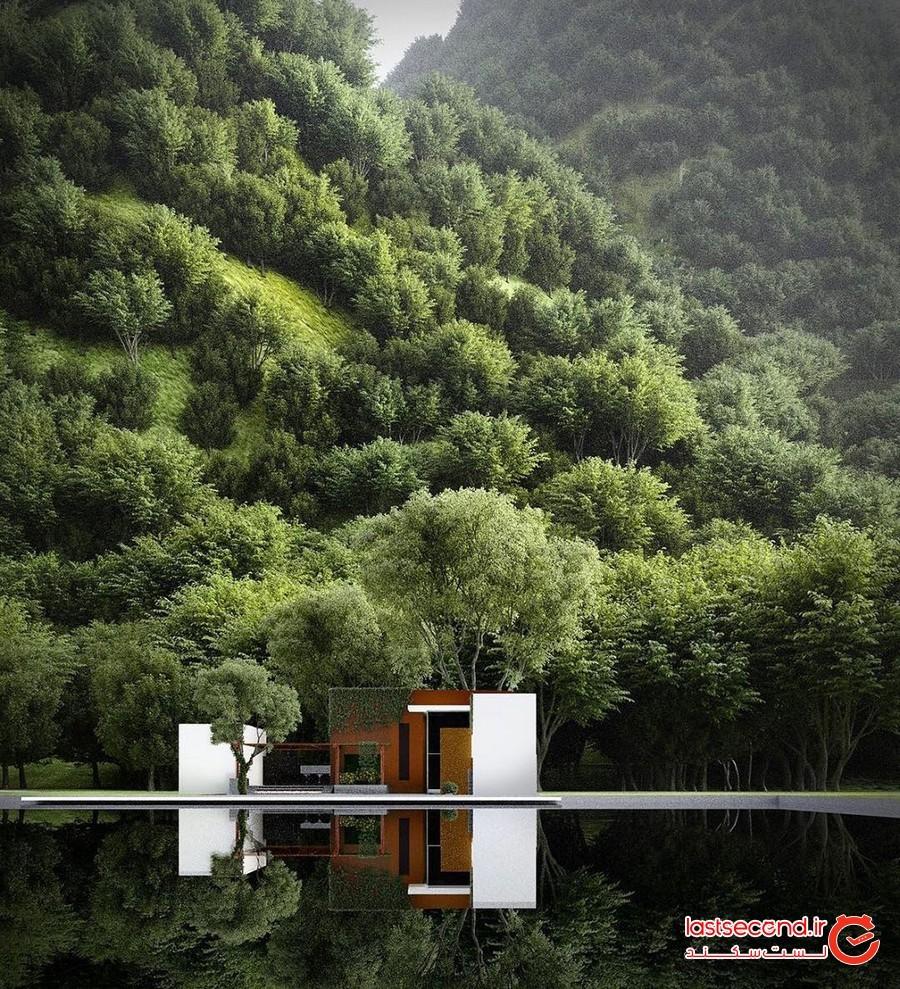 خانه هایی رویایی در دل طبیعت!