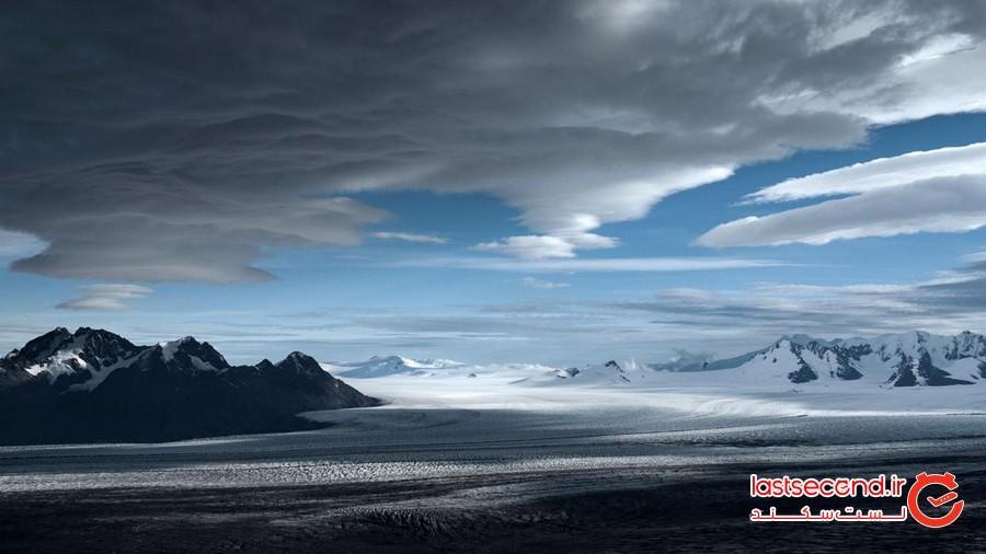 یکی از بزرگ ترین یخچال های طبیعی غیر قطبی در جهان