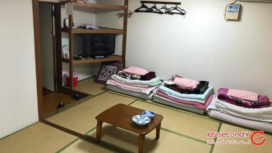 هتلی ژاپنی با قیمت شبی فقط 1 دلار!