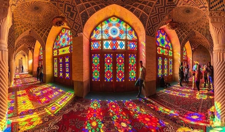 «مسجد صورتی»، خیره کننده ترین مسجد ایران از دید یک وب سایت خارجی!
